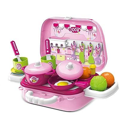 Pickwoo Kids Kitchen Playsets, Toddler Kitchen Accessories,Playsets for  Girls Boys, Best Chefs Kitchen Playset, Fun with Friends Kitchen Playset.