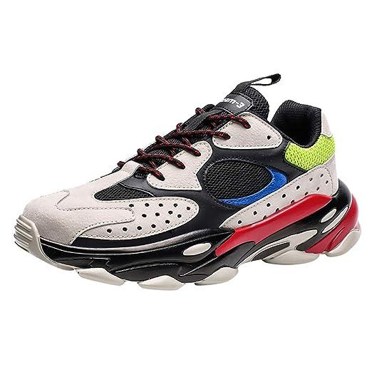 Realike - Zapatillas deportivas para hombre, ligeras, para correr, correr, correr, deportivas, transpirables, para gimnasio y fitness, (EU)40, azul, 1: Amazon.es: Industria, empresas y ciencia