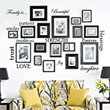 Best Picture Frames  Quotes - Set of 12 Family Quote Words Vinyl Wall Review