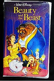 Amazon Com Walt Disney S Beauty And The Beast Rare Black Diamond Classic Vhs Tape Camera Photo