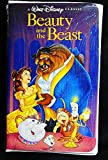 Disney Beauty and the Beast BLACK DIAMOND VHS Tape #1325-New in Factory Sealed Wrap-VERY RARE
