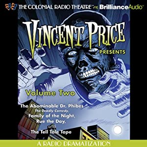 Vincent Price Presents, Volume Two Radio/TV Program