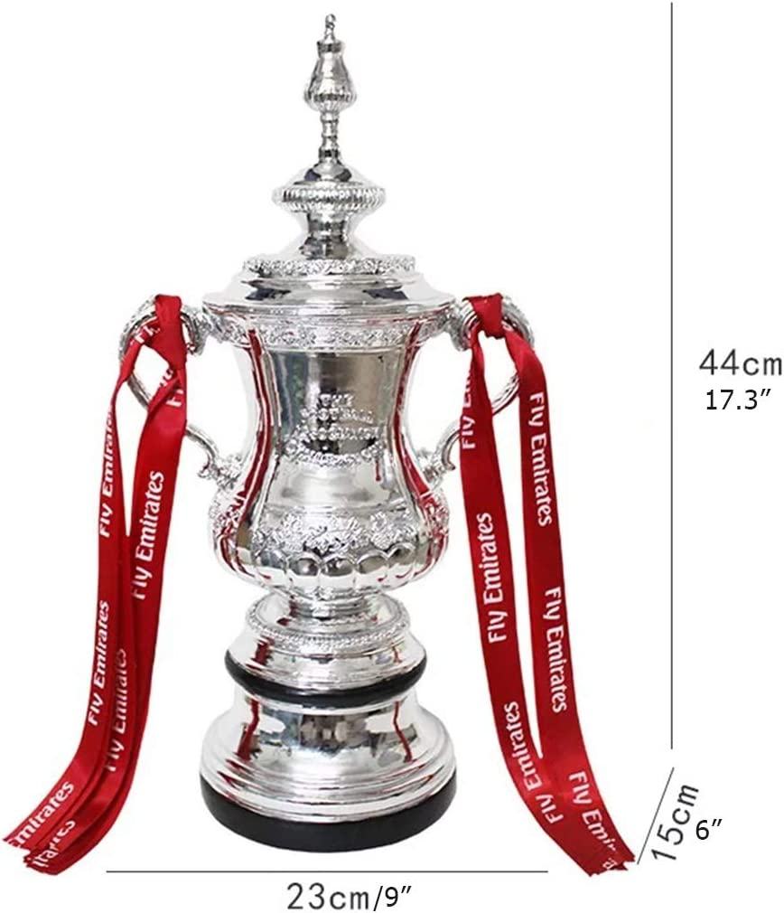 Amazon Com Sxq Foot Ball Trophy 2020 England Fa Cup Trophy Soccer Trophies For Fans Souvenir Home Decoration Gift And Awards Of Various Football Match Home Kitchen