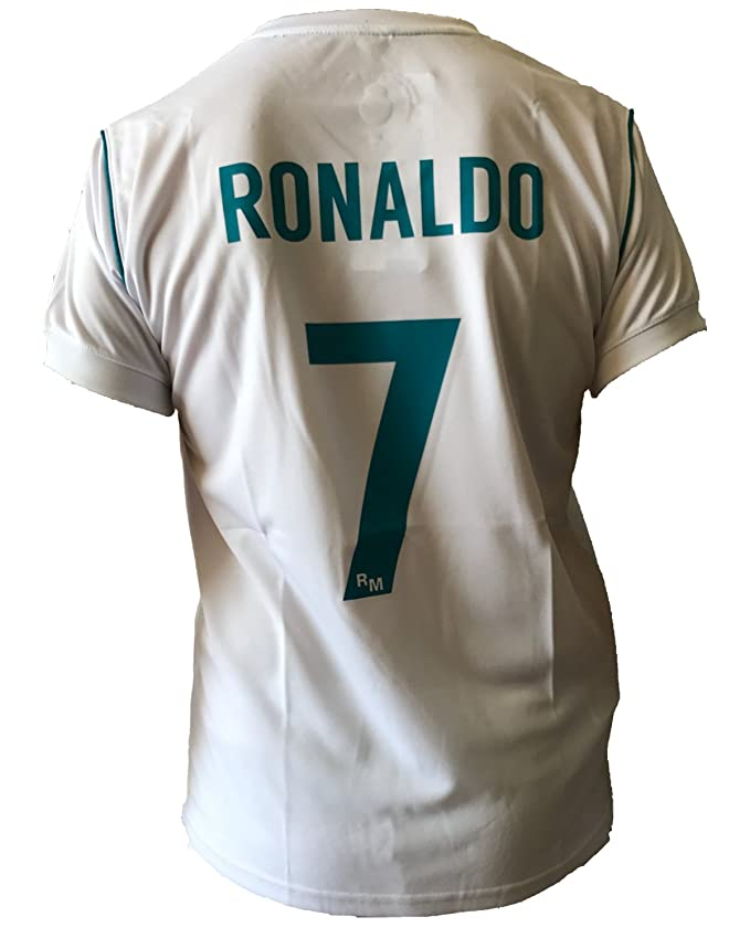 26 opinioni per Maglia Real Madrid Cristiano Ronaldo 7 Replica Autorizzata Ufficiale Bambino