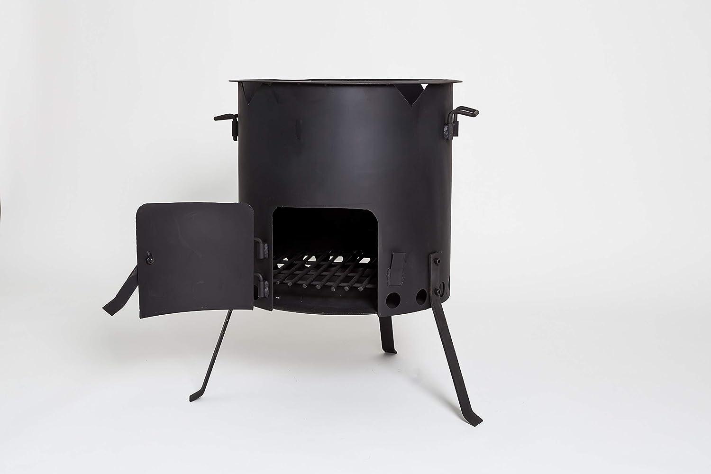 MangalGrills Kazan Oven Stove Wood Fire for Qazon Cauldron Duch Oven Pilaf Plov Lagman Shurpa (Fits 13L to 20L Kazans, 43)