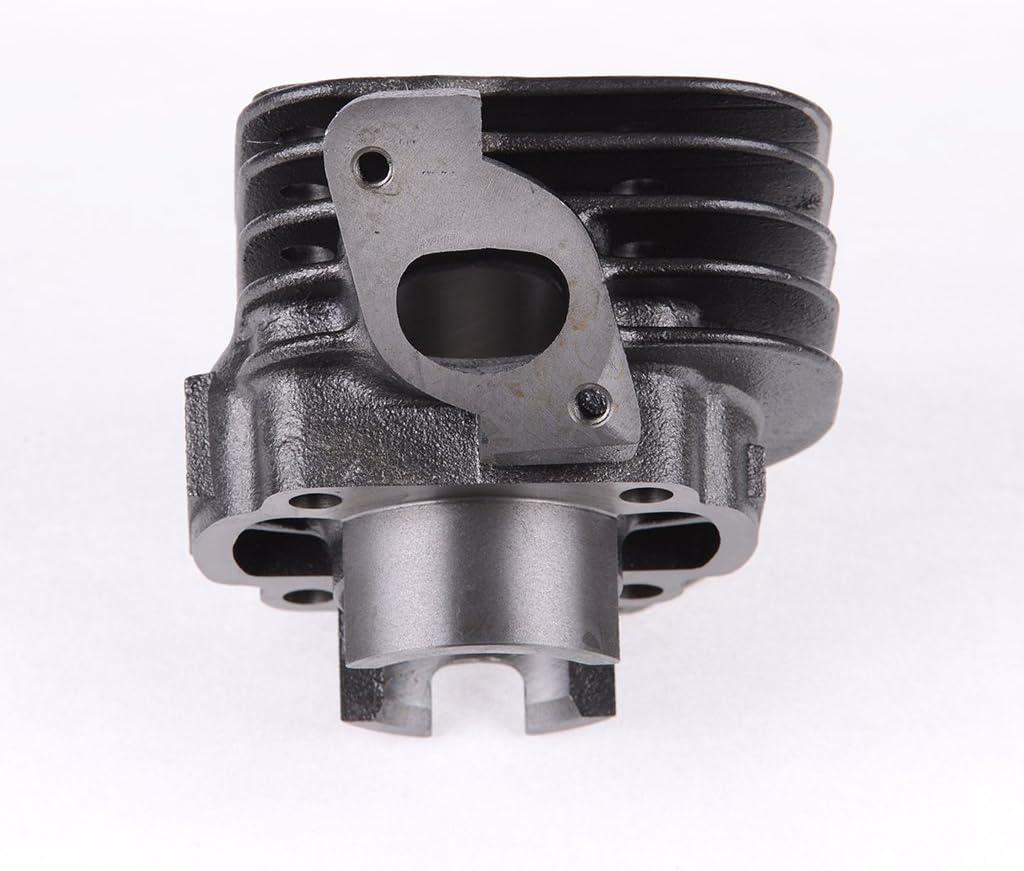Zylinderkit 50ccm AC schr/äger Auslass 12mm Kolbenbolzen Capri 50