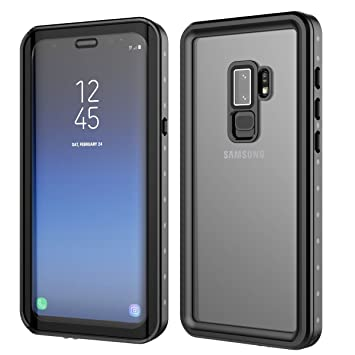 b0a3b3944421ff BasicStock Coque Étanche Samsung Galaxy S9 Plus, IP68 360° Protection  Waterproof Housse  Antichoc