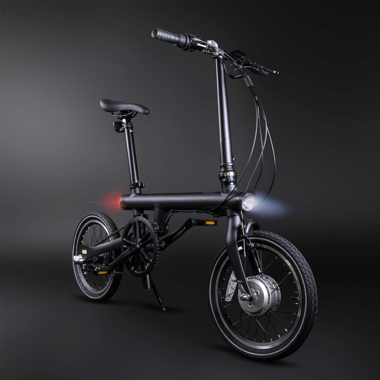 BesbikeUK Bicicletta elettrica Pieghevole Xiaomi Qicycle X-YZZ4007GL Nero Colore