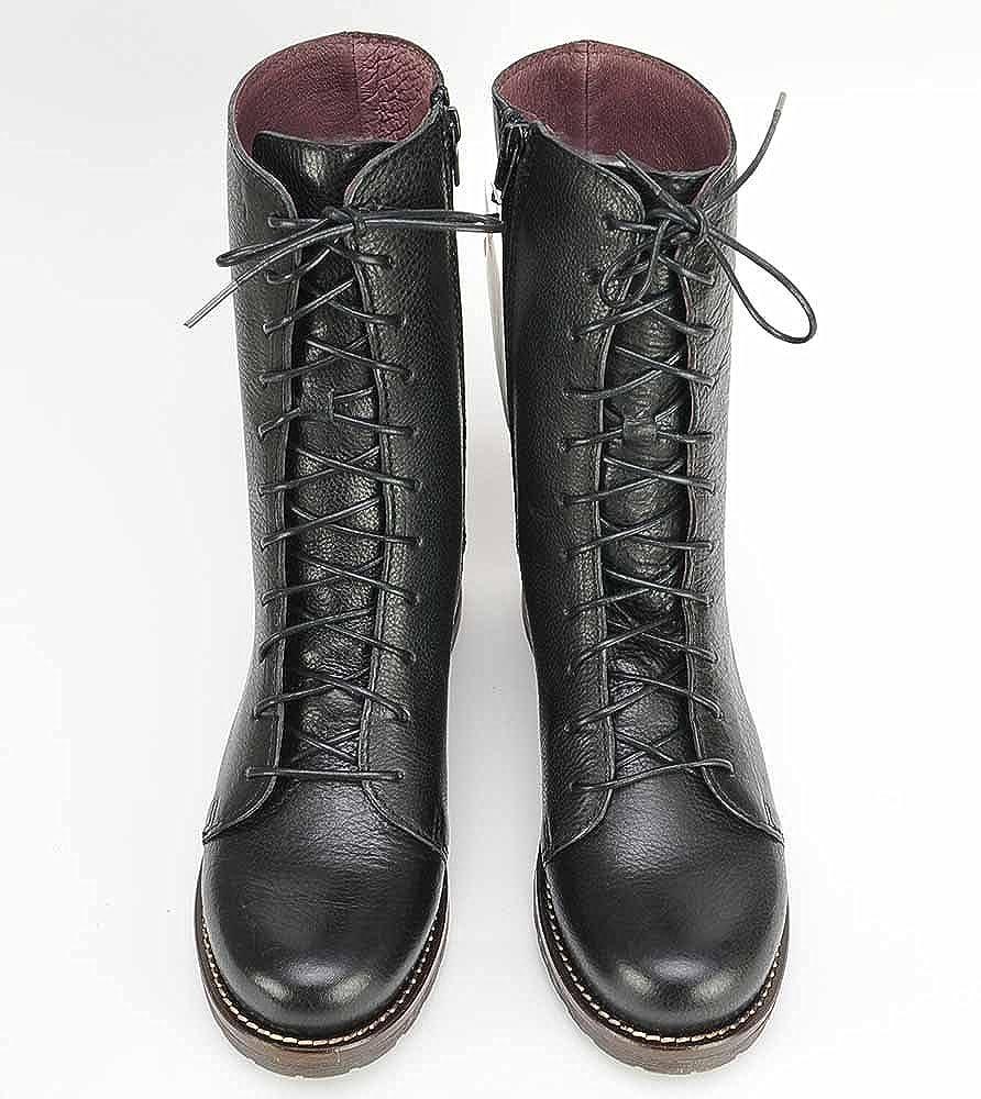 Brako Brako Brako Stiefel Stiefel 8470 TRAVIATA Military Leder schwarz schwarz af0f71