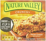 Nature Valley Crunchy Granola Bars, Pecan Crunch, 12-Count Boxes 1.5 Oz Bars (Pack of 12)