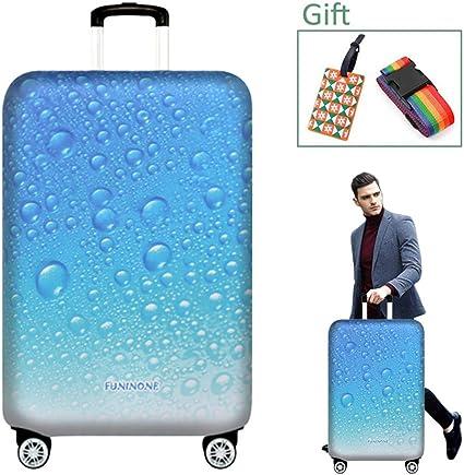 Housse de Protection pour Bagages de 22 /à 32 Pouces OrgaWise Luggage Cover et /Étiquette de Housse Valise Elastique M, L, XL