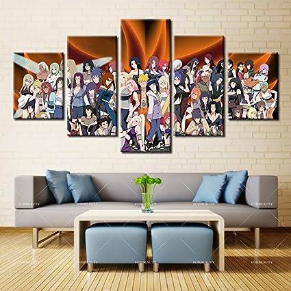 Amazon Com Hd Printed Wall Art Canvas Modern Painting Naruto