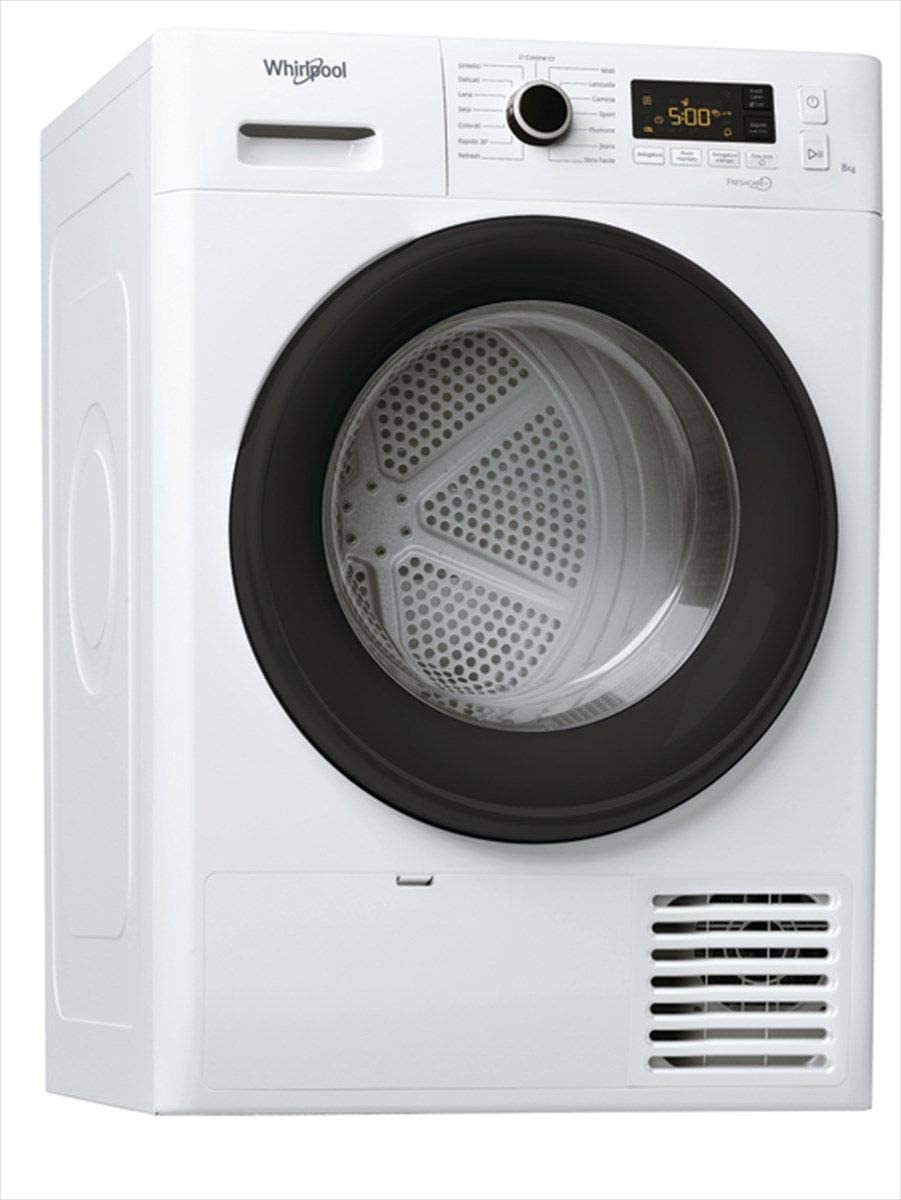 Whirlpool FT M11 8X3B IT - Secadora de condensación (8 kg, clase A++, bomba de calor)