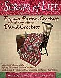 Scraps of Life Quilt top made Elizabeth Patton Crockett wife of Alamo Hero David Crockett