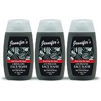 Jennifer's Face Wash Charcoal 3 X 100 ml, Pack of 1