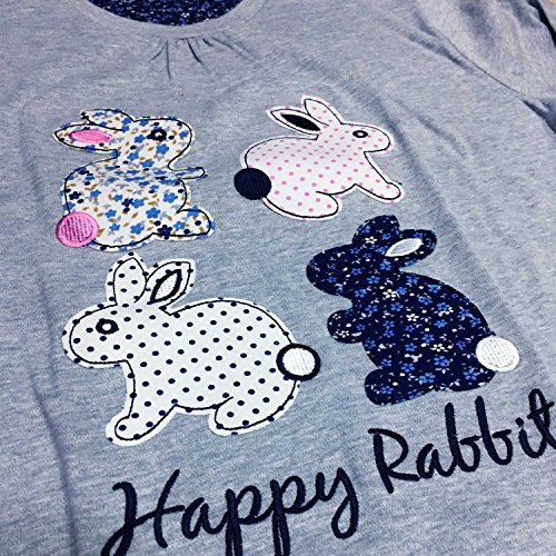 Admas Pigiama Caldo Cotone Happy Rabbit