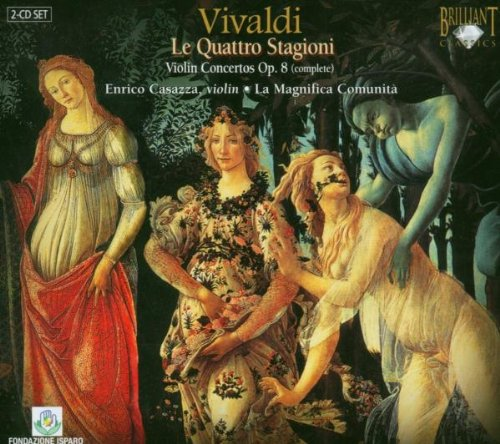 Price comparison product image Vivaldi, Violin Concerti, Op.8 S 112 Including The Four Seasons.