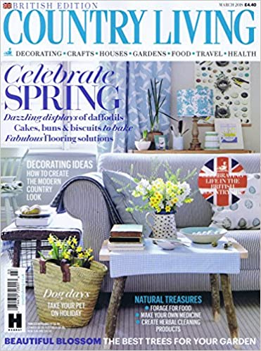 amazon country living uk march 2018 単号 interior