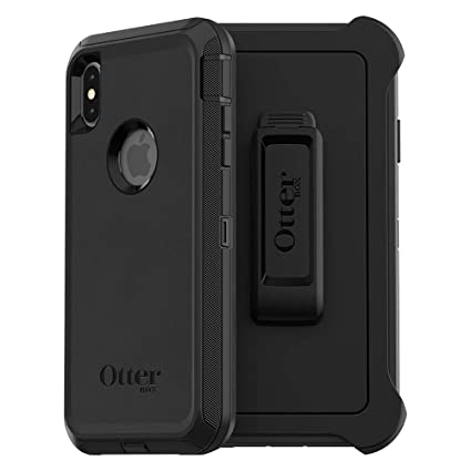 best service ec189 057c6 OtterBox Defender Series Screenless Edition Case for iPhone Xs Max - Retail  Packaging - Black