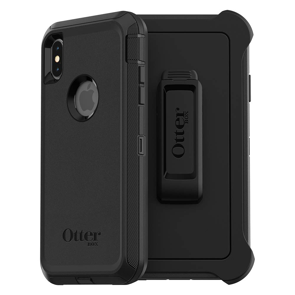 OtterBox DEFENDER SERIES SCREENLESS EDITION Case for iPhone Xs Max - Frustration Free Packaging - BLACK
