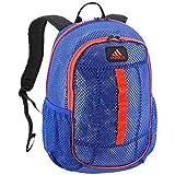 adidas Hermosa Mesh Backpack, Royal/Orange, One Size