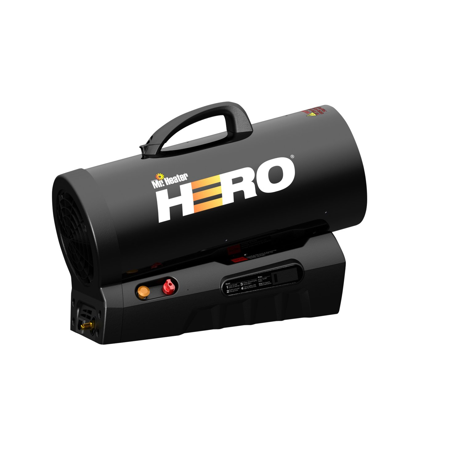 Mr. Heater MH60CLP Hero Liquid Propane Cordless Forced Air Heater (F228810)  - Mr Heater Hero - Amazon.com