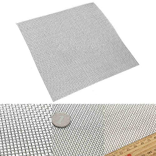 Stainless Steel 10 Filtration Water Resistant Wire Cloth Screen Filter 3030cm For Filtering Industrial Paint Water (Best Cloth For Filtering Water)
