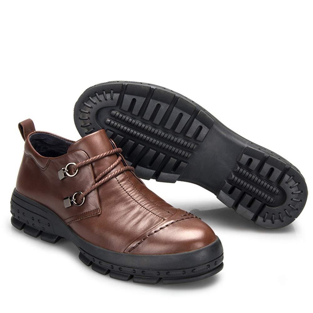 Qiusa Herren Slip auf Durable Comfort Schuhe Breathable Nicht Slip Slip Slip weiche Sohle Formale Schuhe (Farbe   Braun, Größe   EU 41) B07JR539LQ  3359bf