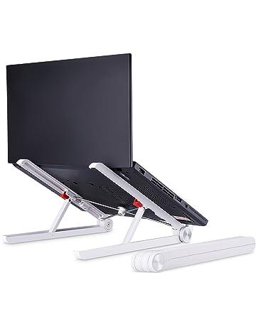 Laptop Stand - JUBOR Adjustable Laptop Stand Portable Foldable Ergonomic Desktop Stand Holder Mount for MacBook