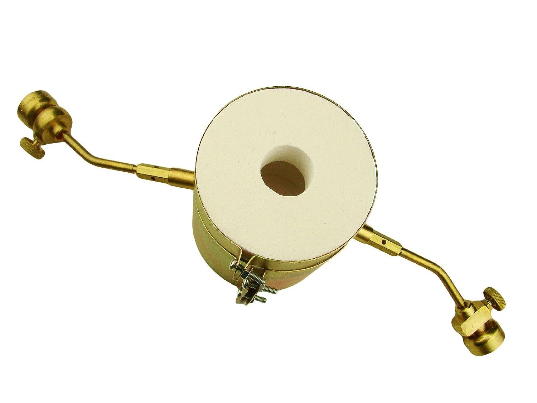 Mold Tips Mini Propane Gas Furnace Kit MELT Gold /& Silver Kiln Crucibles /& Tongs Flux