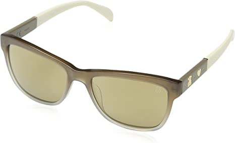 TOUS STO908S-54WTQG Gafas, Gris, 54/17/140 para Mujer