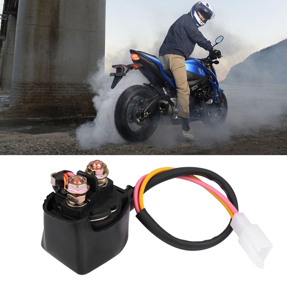 Rel/è a solenoide di avviamento Fydun accessori per rel/è a solenoide di avviamento stabile per TRX400EX TRX300 ATC GY6 50cc-125cc ATV
