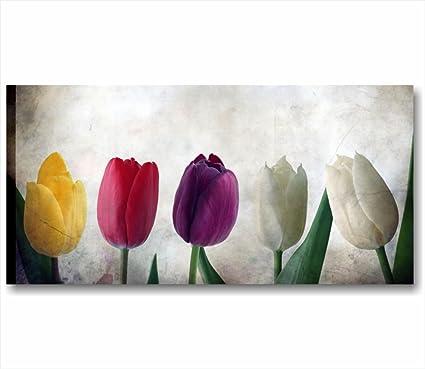 Quadri L&C ITALIA Tulipani Vintage | Quadro Moderno Made in Italy ...