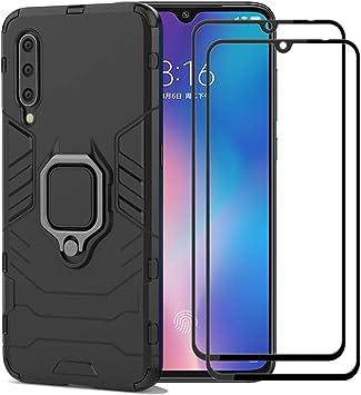 XIFAN Funda para Xiaomi Mi 9 [Robusto] Anillo Metálico Soporte ...