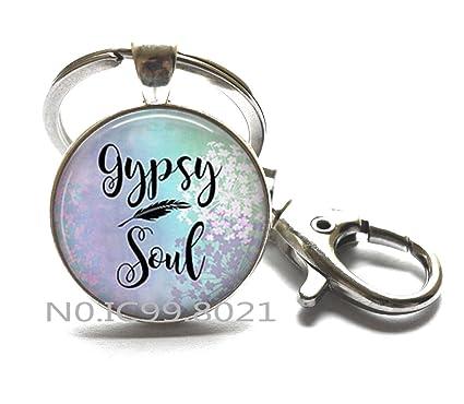 Gypsy Soul llavero, joyería gitana, llavero gitano, joyería ...