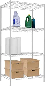 Home Basics Wire Shelf, White