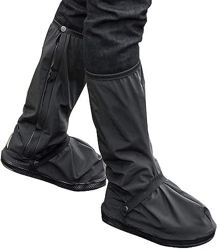per attivit/à allaperto impermeabili riutilizzabili Tekman per ciclismo uomini in silicone antiscivolo donne per bambini copriscarpe antipioggia