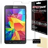 [Pack de 2] TECHGEAR® Samsung Galaxy Tab 4 7.0 Pouces (SM-T230 / SM-T231 / SM-T235) Film Protecteur d'Écran ANTI-REFLET / MAT Avec Chiffon de Nettoyage et Carte d'Application