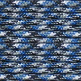 Paracord Hero Blue Camo at 50' 10' 20' 50' 100' Hanks Parachute 550 Cord Type III 7 Strand Paracord - Largest Paracord Selection