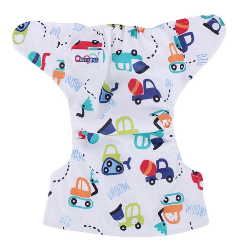 FTXJ Newborn Baby Summer Cute Cloth Diaper Cover Adjustable Reusable Nappy (G) by FTXJ (Image #3)