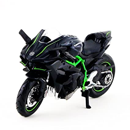 Buy Maisto Diecast Bike 118 Kawasaki Ninja H2 R Grey Online At