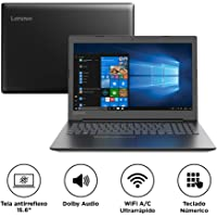 "Notebook Lenovo Ideapad 330, Intel Celeron Dual Core N4000, 4GB RAM , HD 1TB, Tela 15.6"" LED, Windows 10, 81FN0001BR"