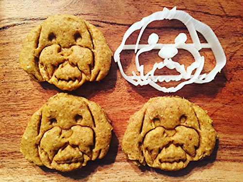 Chester the Shih Tzu Cookie Cutter and Dog Treat Cutter - Dog Face Shih Tzu Face