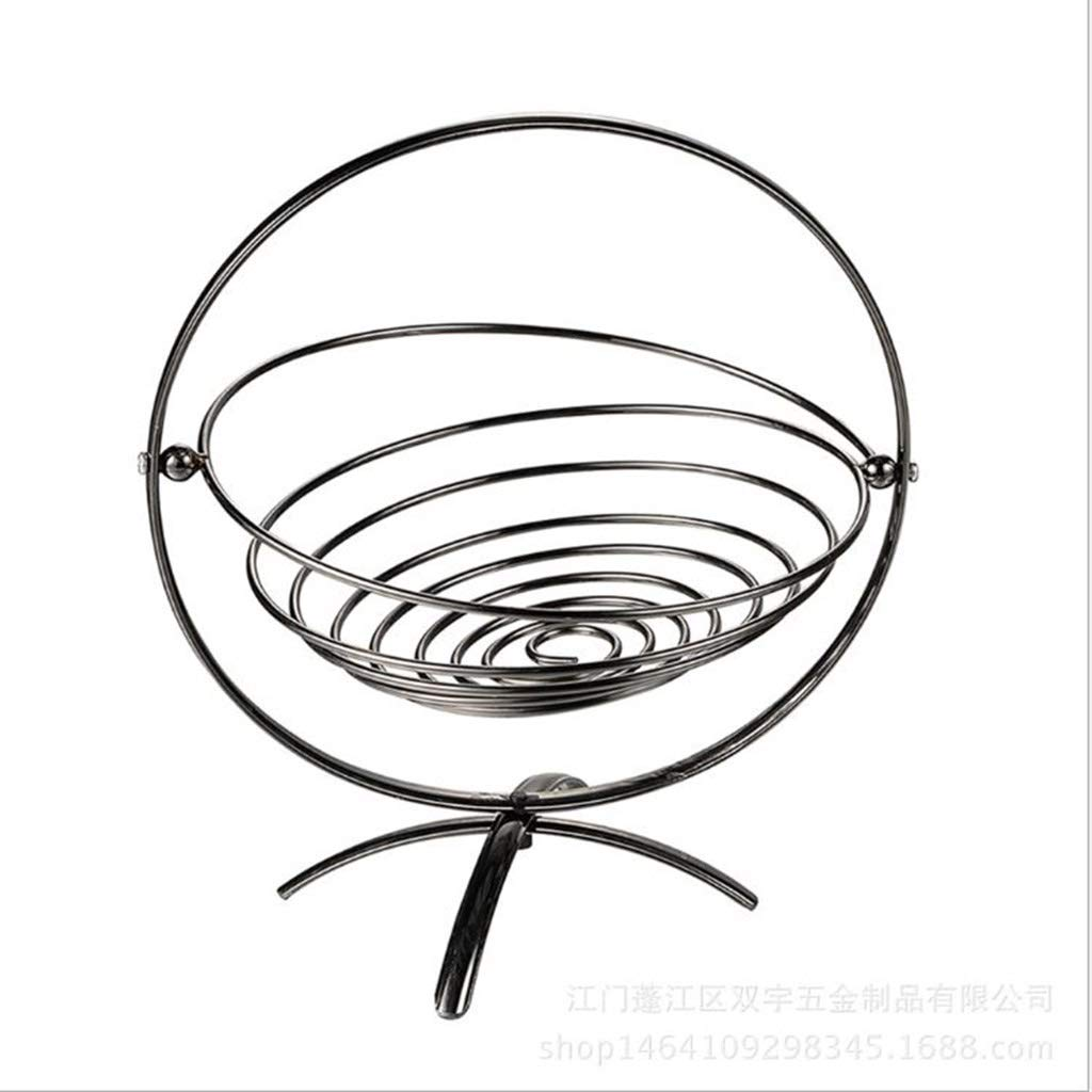 AIWO-PQ Fruit Basket Creative Metal Foldable for Living Room and Home Decoration