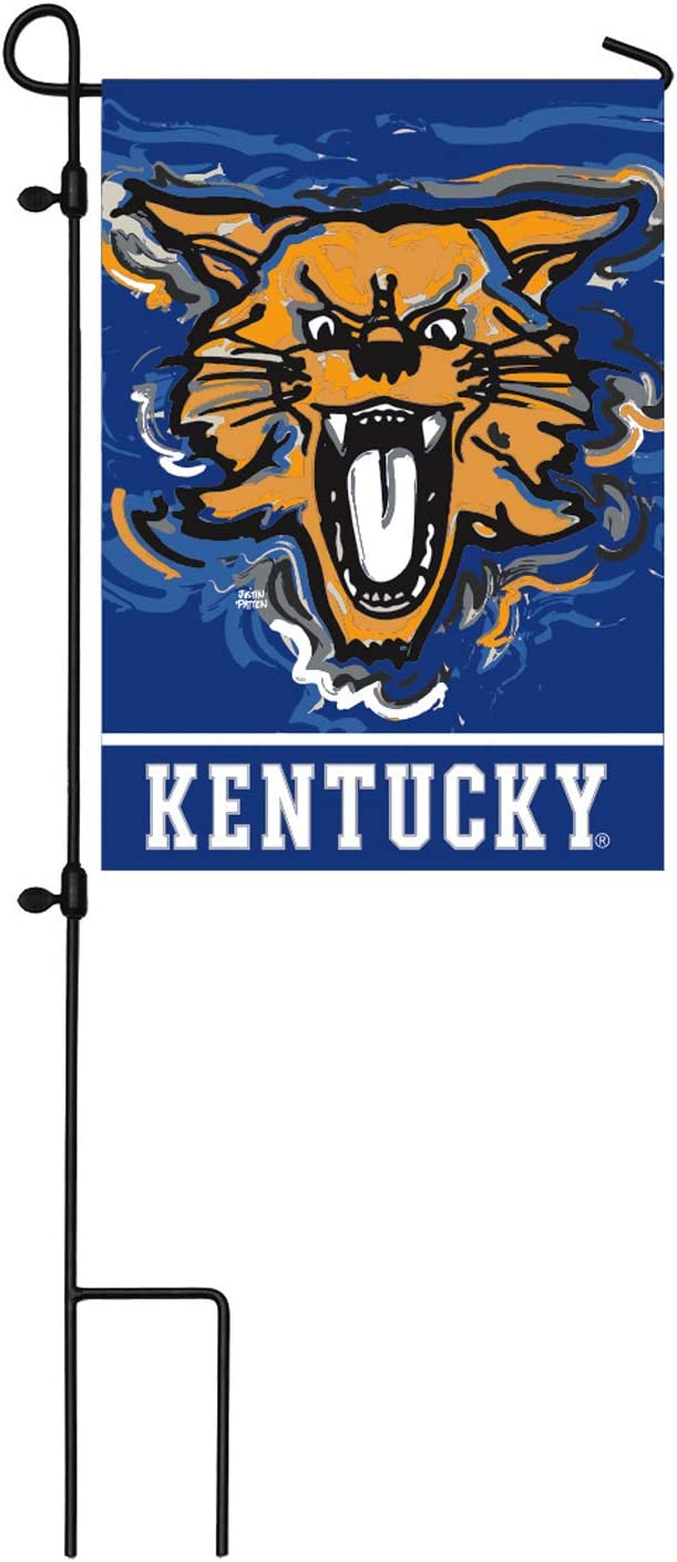 Team Sports America NCAA University of Kentucky Suede Garden Flags