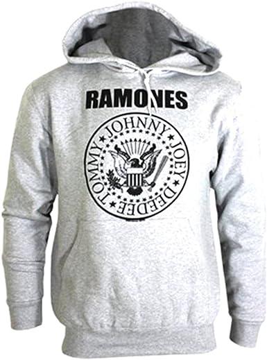 RAMONES HOODIE BLACK HOODED SWEATER
