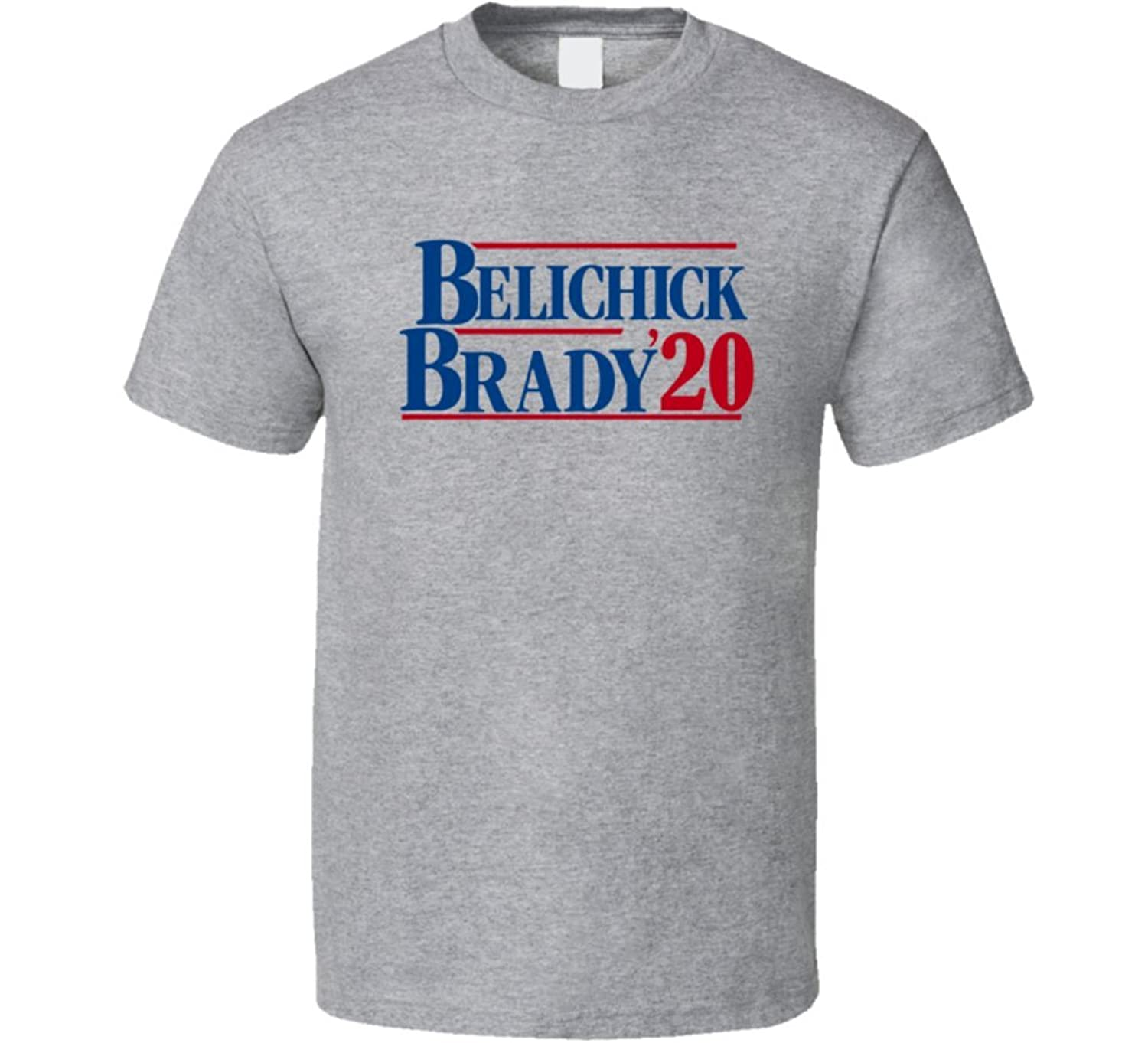 DABB APPAREL Tom Brady Bill Belichick for President 2020 Cool New England Football Quarterback Sports Team Fan T Shirt