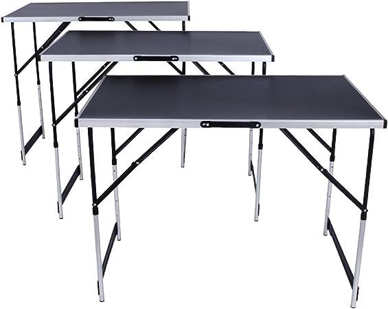 Mesa de trabajo de aluminio para empapelado, plegable, de 300 x 60 ...
