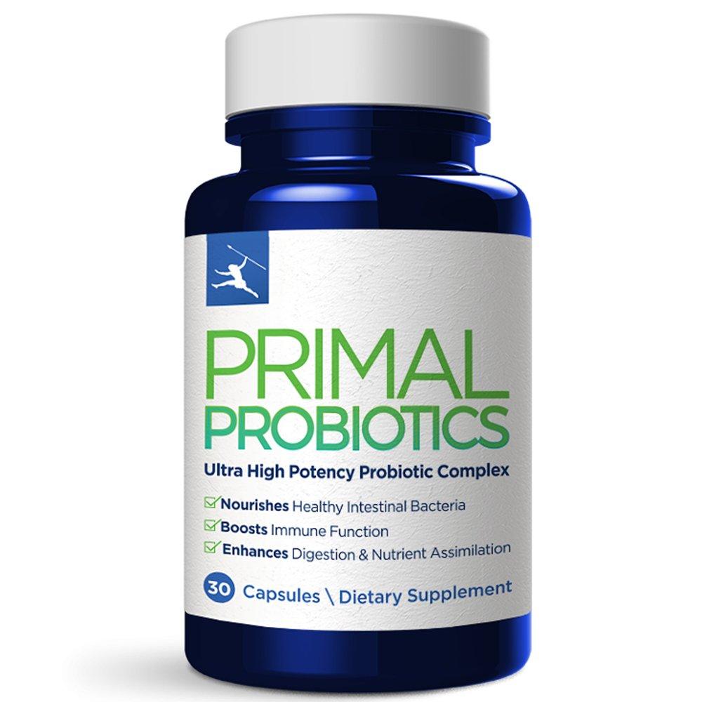 Primal Blueprint  Primal Probiotics, Digestive & Immune Support, 30 Count