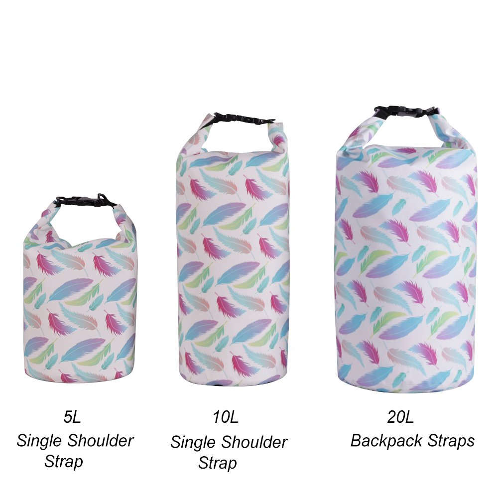 639f0473f074 UrbanMover Waterproof Dry Bag Compression Roll Top Sack for Women Girls  Fashion Unique Pattern Lightweight 10L Floating Kayaking Boating Rafting ...